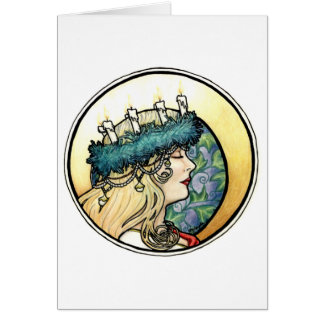 """""""Lucia"""" Greeting Card"""