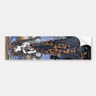 """""""Lucia"""" Moon Phase Fairy Art Sticker"""