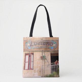 Luciano's Pizza Tote Bag