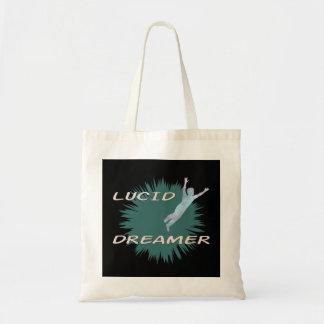 Lucid dream tot bag design.