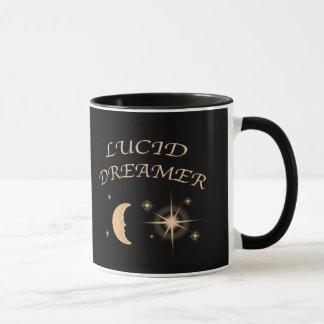 Lucid Dreamer Black coffee Mug