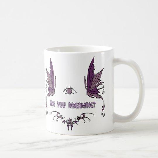 Lucid dreaming coffee cup/mug design. coffee mug