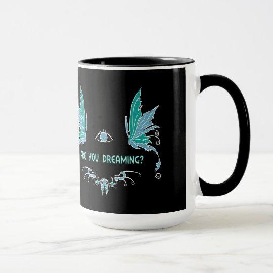 Lucid dreaming coffee cup/mug design. mug