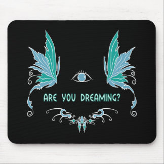 Lucid dreaming mouse pad design.