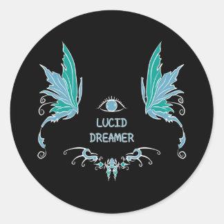 Lucid dreaming sticker design.