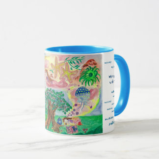 Lucid dreams - write your wish mug