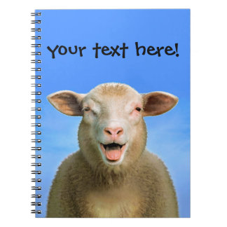 Lucie the sheep notebooks