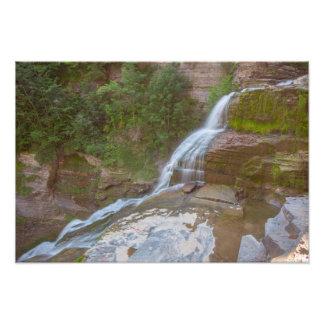 Lucifer Falls, Robert H. Treman state park, NY Photo Print
