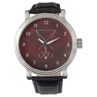 Lucifer Sigil Alchemy Goth Art Watch