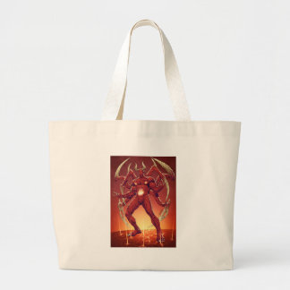 Lucifer the Devil, the Prince of Darkness, Satan Canvas Bag