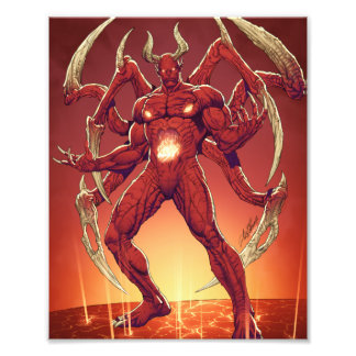 Lucifer the Devil, the Prince of Darkness, Satan Art Photo