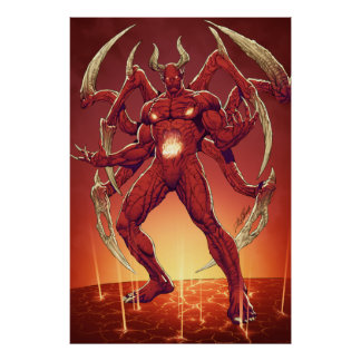 Lucifer the Devil the Prince of Darkness Satan Print