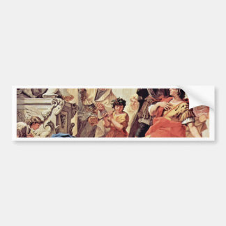 Lucius Junius Brutus Kissing The Ground Bumper Sticker