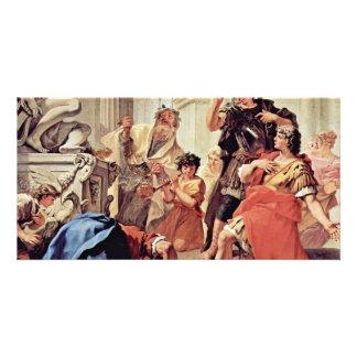 Lucius Junius Brutus Kissing The Ground Custom Photo Card