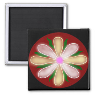 Luck and Love Mandala Magnets