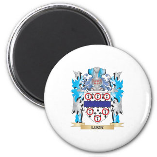 Luck Coat of Arms - Family Crest Magnet
