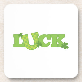 Luck Drink Coasters