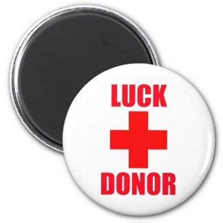Luck Donor Magnet