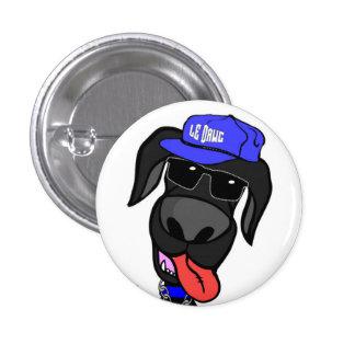 Luck E. Dawg - Mini Button