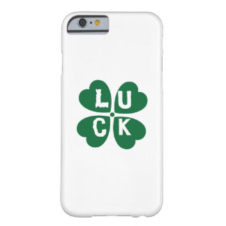 Luck For St. Patrick's Day Barely There iPhone 6 Case