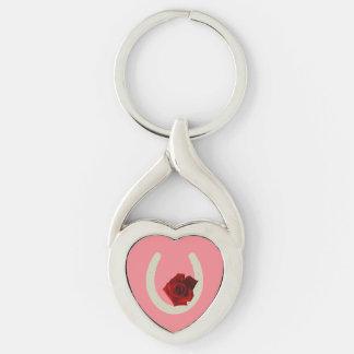 """Luck"" horseshoe key chain"