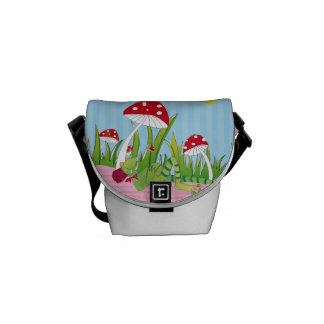 Luck mushroom mini curing ashes external pressure courier bag