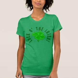 Luck o the Irish Fourleaf Clover Shirt