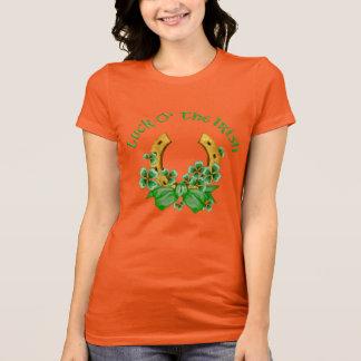 Luck O' The Irish Horseshoe T-Shirt