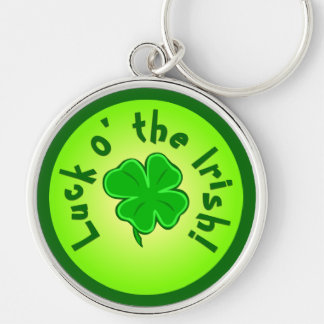 Luck o the Irish Key Chain