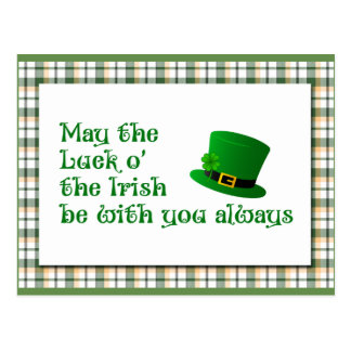 Luck o' the Irish Postcard