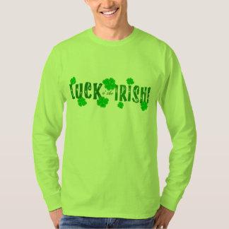 Luck o the Irish Seven Green Lucky Shamrocks T-Shirt