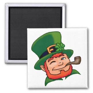 Luck O' the Irish Square Magnet