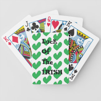Luck of the Irish Bicycle Playing cards