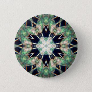 Luck of the Irish Flowers 6 Cm Round Badge