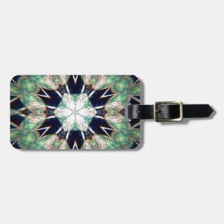 Luck of the Irish Flowers Luggage Tag