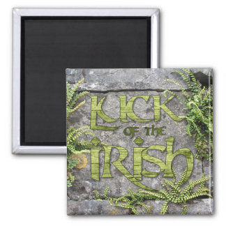 Luck of the Irish Green St Patrick's Day Magnet