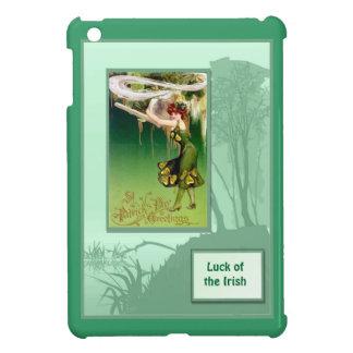 Luck of the Irish - Irish colleen iPad Mini Cover