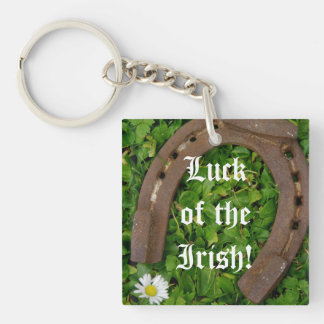 Luck Of The Irish Acrylic Keychains