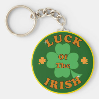 Luck Of The Irish Keychain