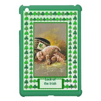 Luck of the Irish - Litter of Irish pigs Case For The iPad Mini