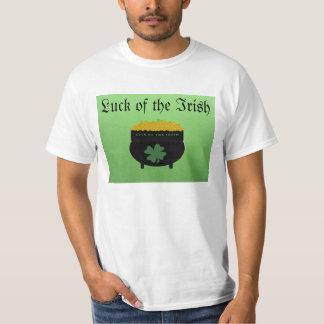 Luck of the Irish mens shirt