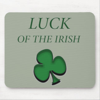 Luck Of The Irish Mouse Pad