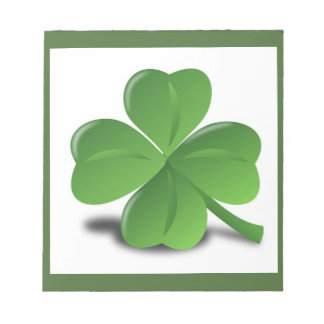 LUCK OF THE IRISH NOTEPAD