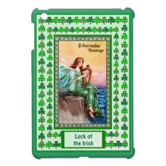 Luck of the Irish -  Playing the Irish harp iPad Mini Cases