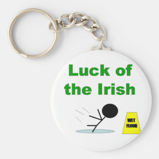Luck of the Irish.png Key Ring