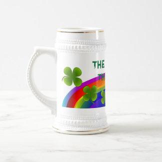 Luck of the Irish Rainbow Stein Beer Steins