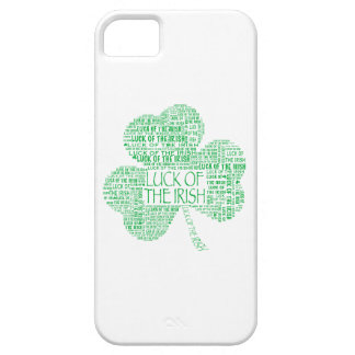 Luck of the Irish Shamrock iPhone 5 Cases