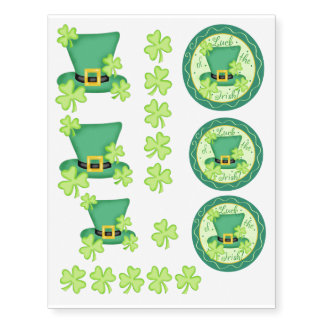 Luck of the Irish Shamrock Top Hat