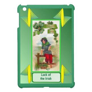 Luck of the Irish - Sitting on the fence iPad Mini Case