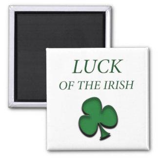 Luck Of The Irish Square Magnet